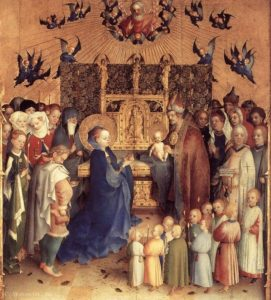 4. Stephan Lochner, 1447 museo di Darmstadt